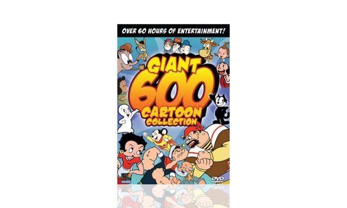 600 Giant Dvd Collection Cartoon