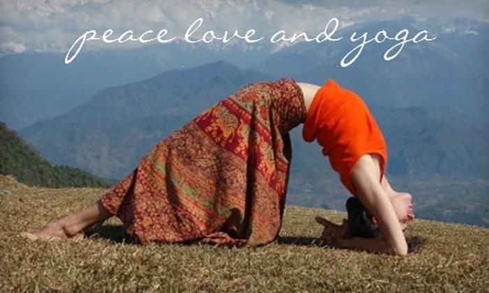 Yoga Love Carlsbad And Peace