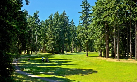 18 Hole Round of Golf   Lake Spanaway Golf Course   Groupon