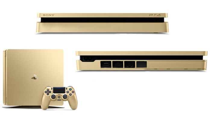 Sony Playstation 4 Gold