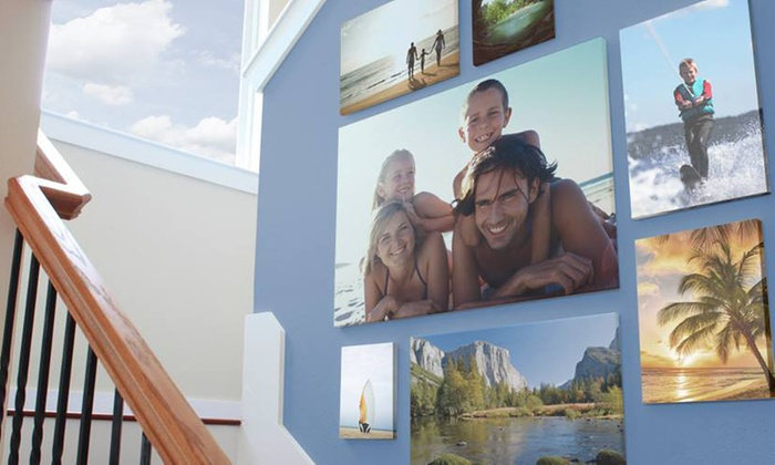 Custom Canvas Print - Easy Canvas Prints   Groupon