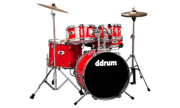 ddrum D1 Junior Drum Set with Stands and Cymbals   Groupon ddrum D1 Junior Drum Set with Stands and Cymbals