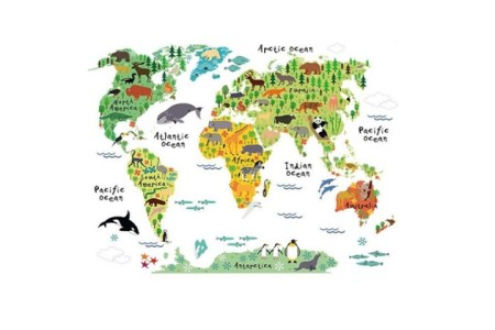 World map animals world map path decorations pictures full path animal map of the world art canvas print animals world map animals living in different parts of the planet animals world map animals living in different gumiabroncs Choice Image