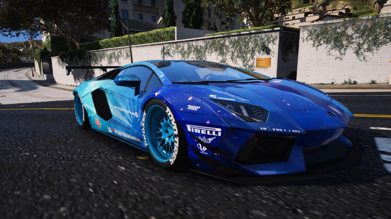 Lamborghini Aventador Jake Paul Wallpaper