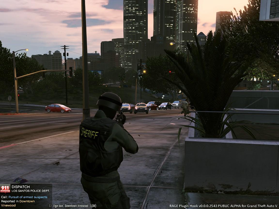 Swat Sheriff Skin Gta5 Mods Com