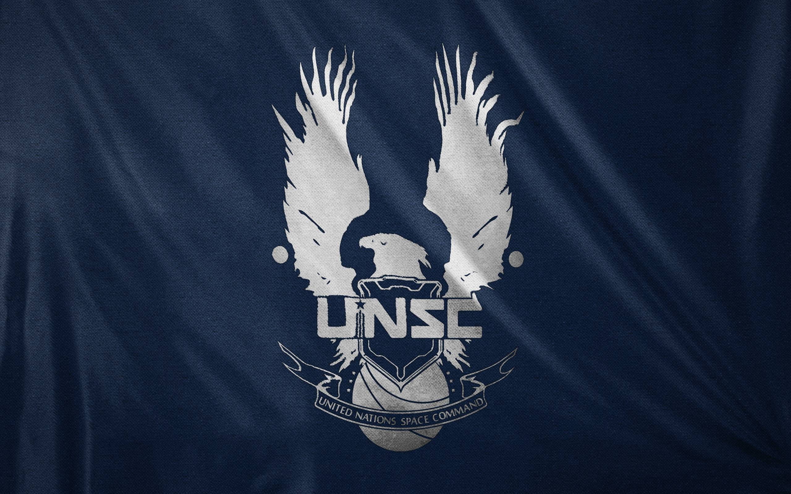 halo 4 unsc logo wallpaper