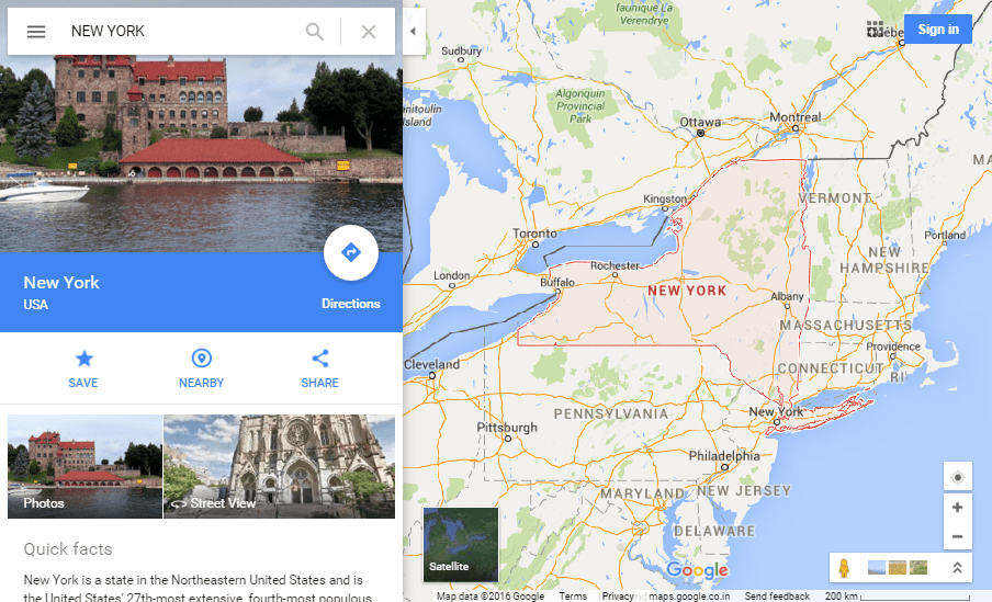 Difference Between Google Maps, Google Street View and ...