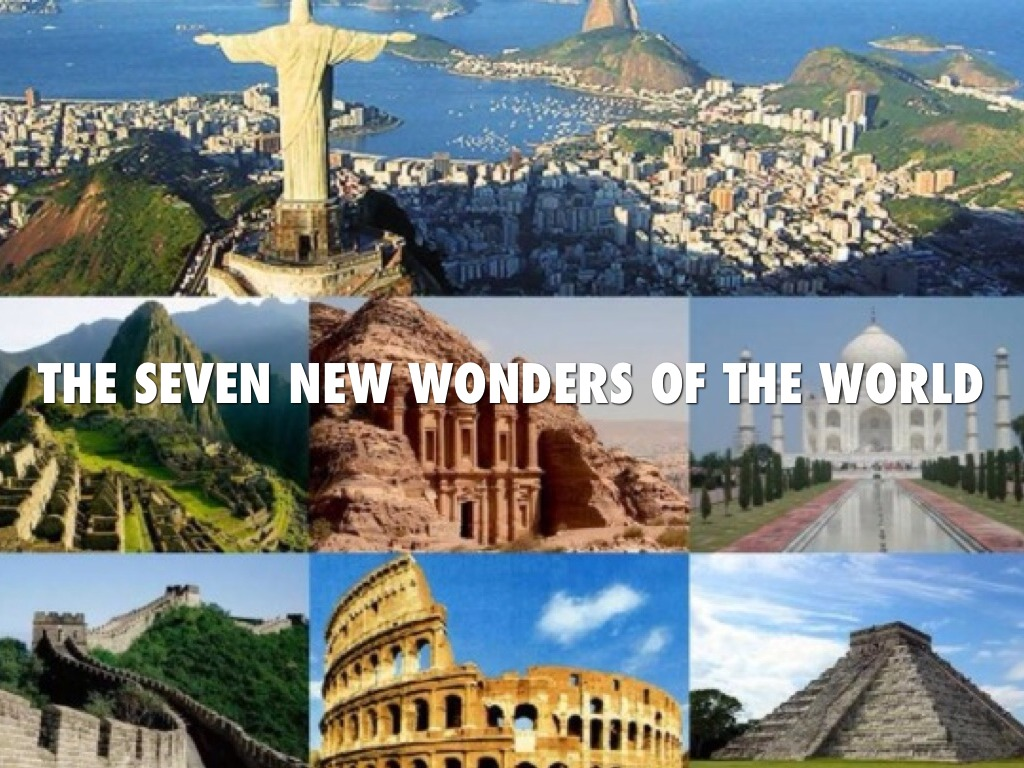 the seven wonders of the world - 1000×719
