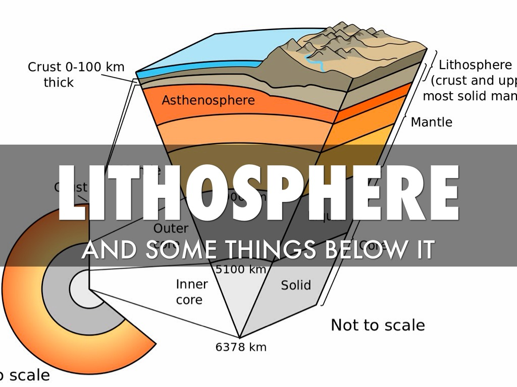 Lithosphere, Oceanic And Continental Crust by ryam.