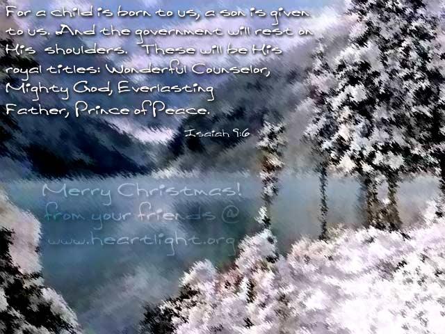 Christmas Story Scripture Bible