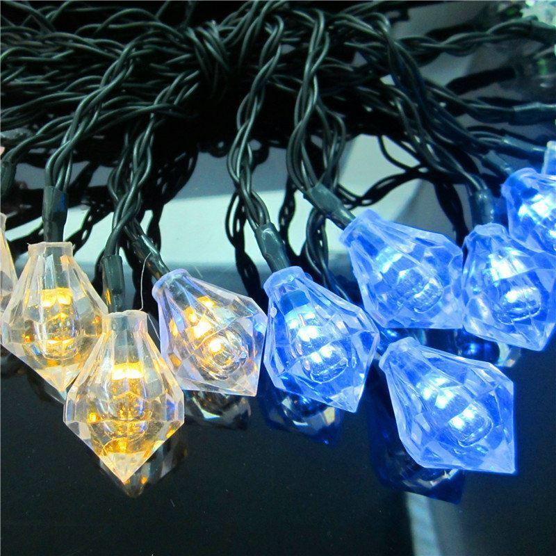 Diamond Outdoor Waterproof Solar Led String Lights