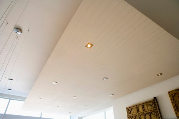 The Best Lights to Put in a Suspended Ceiling   Hunker Ceiling with recessed lighting