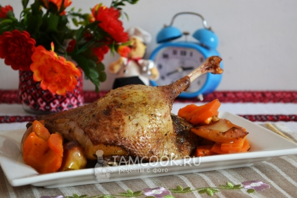 Recipe goose pieces sa hurno sa manggas