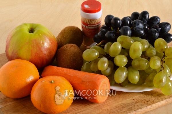 Meyve Noel Ağacı İçin Malzemeler