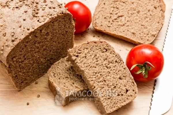Фото домашнего Бородинского хлеба