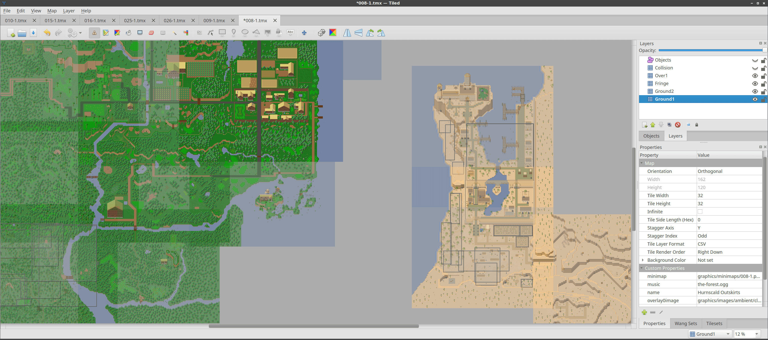 Multi Map World View  Python 3 and Raising Funds    Tiled Map Editor     It s been a while since the last development snapshot  mostly because it  includes two new features that took a while to get  ready  for release