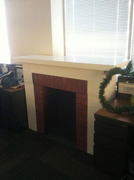How To Make Your Own Fireplace For Christmas 13 Pics