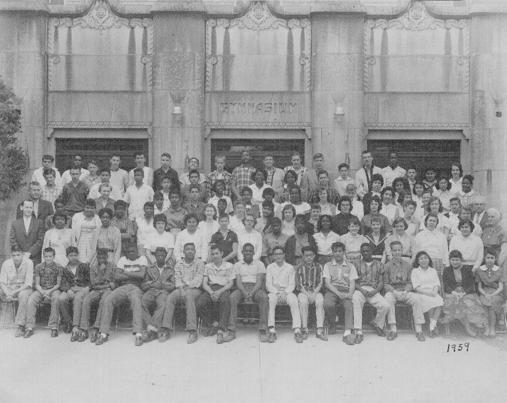 East Topeka Junior High School class of 1959, Topeka ...