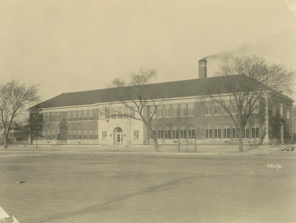 Monroe School in Topeka, Kansas - Kansas Memory - Kansas ...