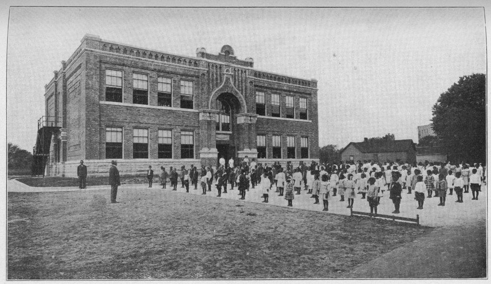 Washington School, Topeka, Kansas - Kansas Memory - Kansas ...