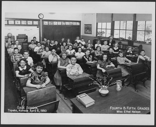 Gage School, Topeka, Kansas - Kansas Memory