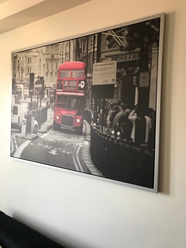 ikea pictures london bus # 58