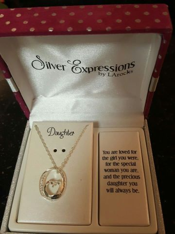 Used silver expressions by larock gold necklace in Bealeton   letgo