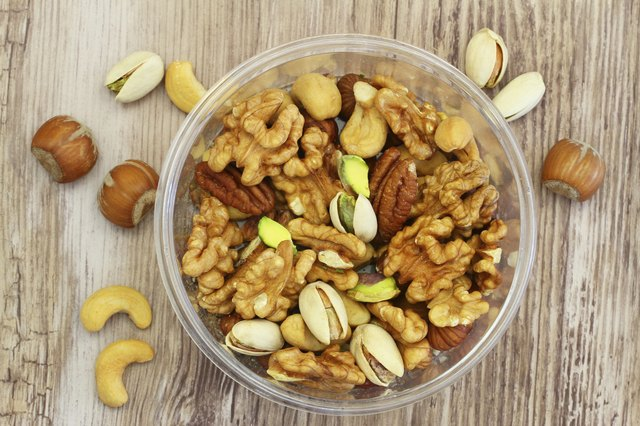 Mixed Nuts Nutrition