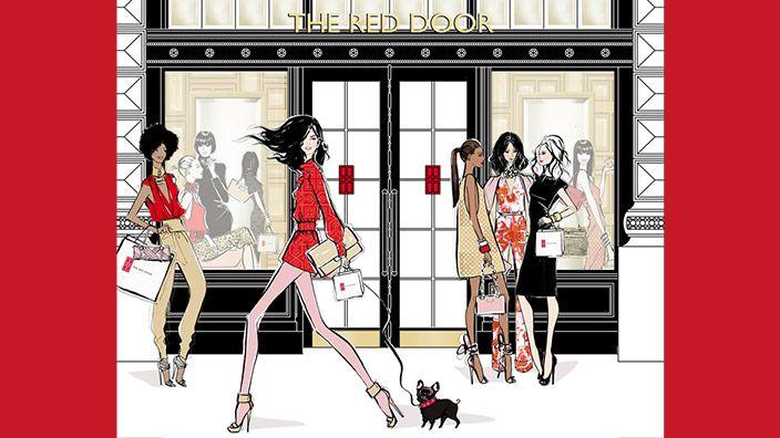 Elizabeth Arden The Red Door Spa - Custom Color Foundation ...