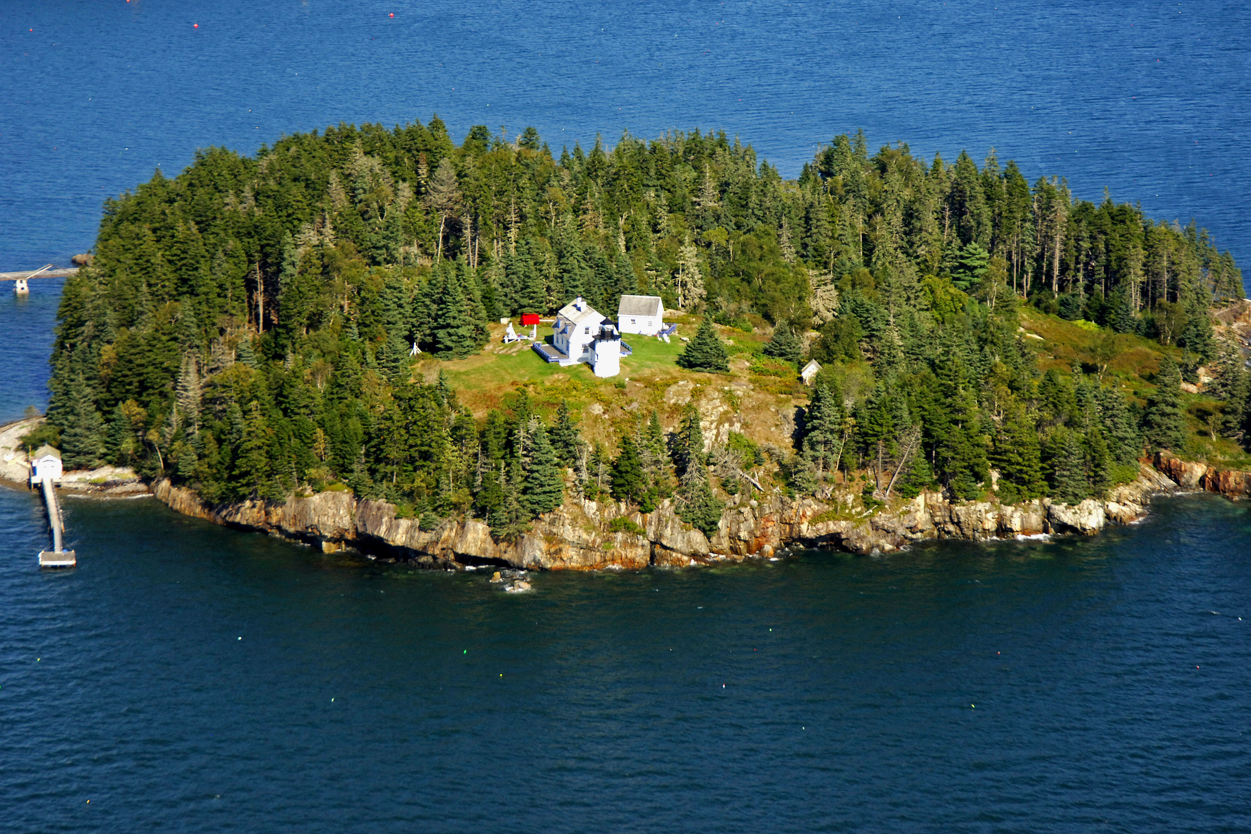 Maine Beautiful Lighthouses Pictures