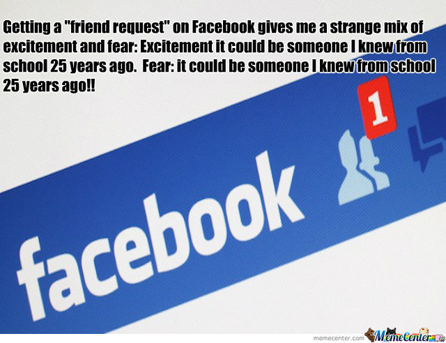 Memes Funny Friend Request Facebook