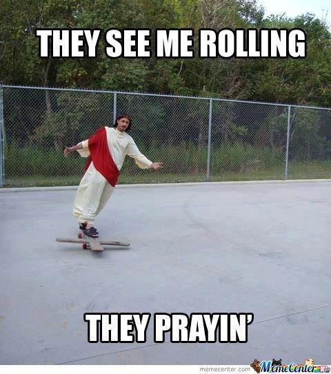 Swag They See Me Rolling Dog