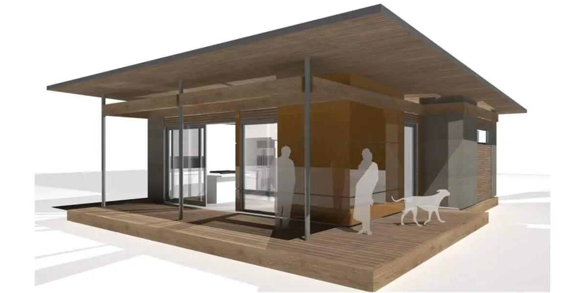 Prefab Small Homes House Blu