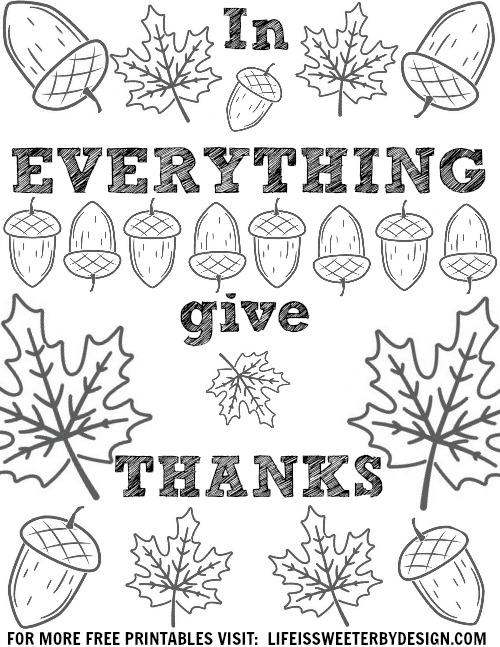 thanksgiving coloring pages printables # 14