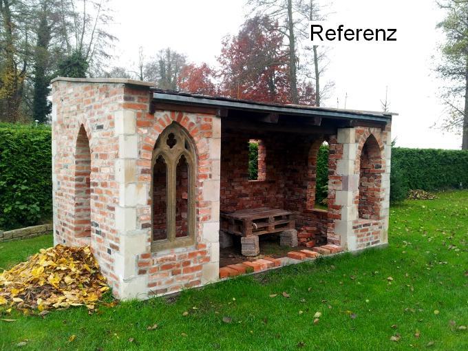 Alte historische rustikale Ziegel Klinker Backsteine