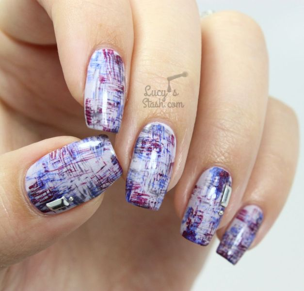 Hite Dry Brush Nail Art - BTC Ex