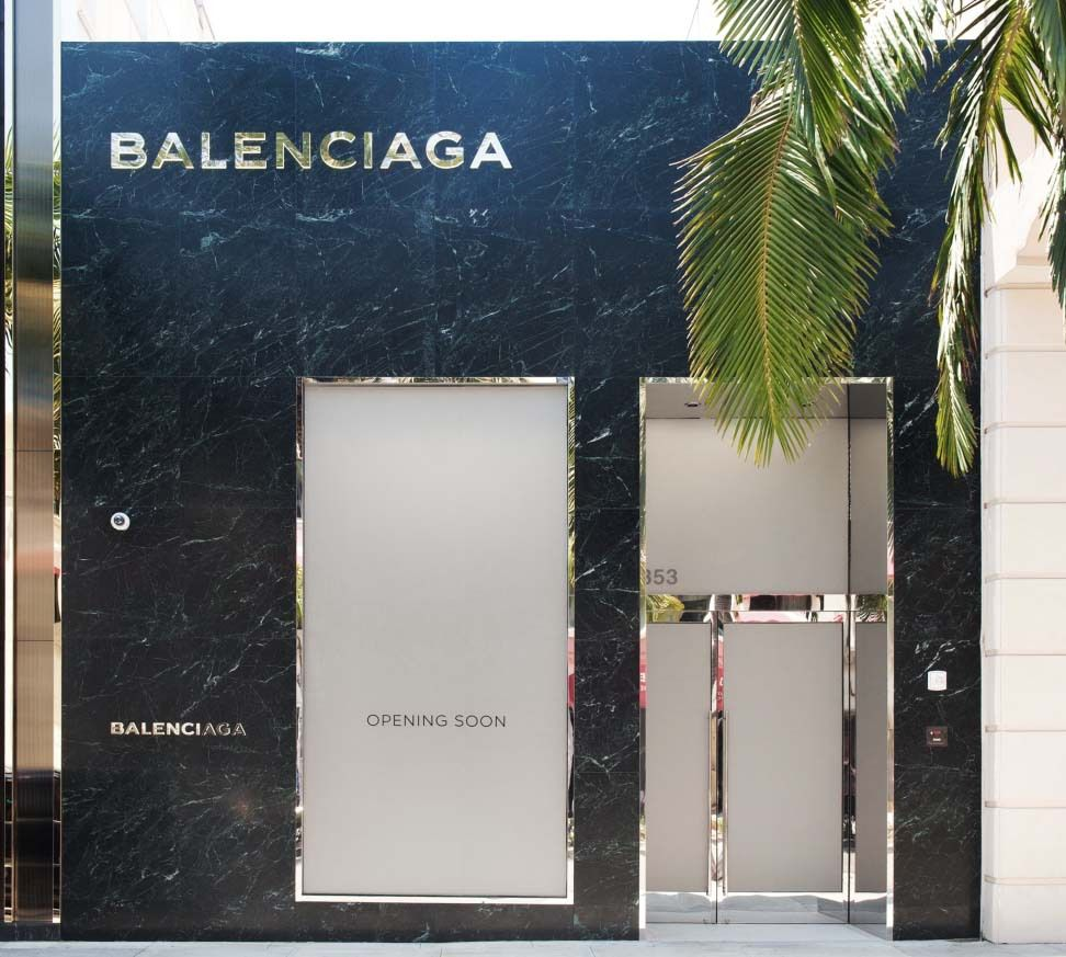 Balenciaga Store In Rodeo Drive Beverly Hills Arc