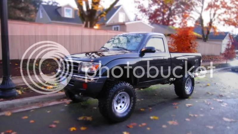 2000 Toyota Tacoma Exhaust