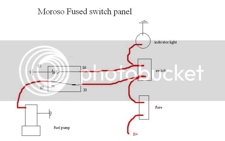 Moroso Switch Panel Wiring Diagram - Wiring Diagram K8 on