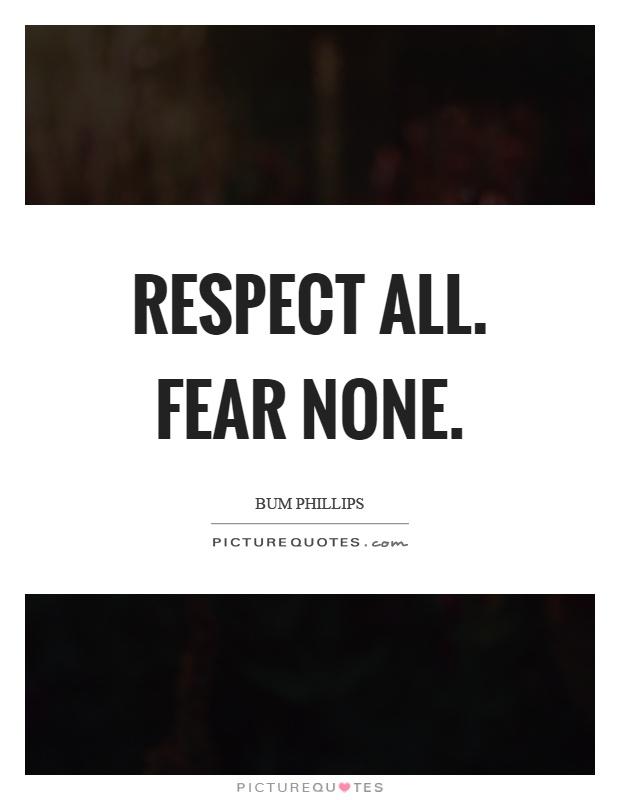 Fear None Trust None Wallpaper