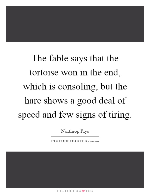 Tortoise And Hare Quotes