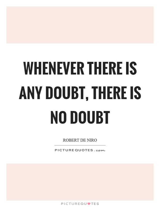 Doubt About Love Quotes
