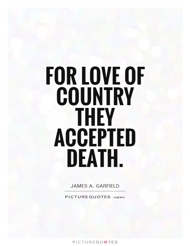 Love Your Country Quotes