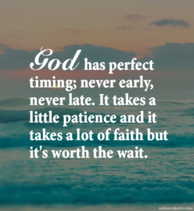 God Patience Quote | Quote Number 570471 | Picture Quotes