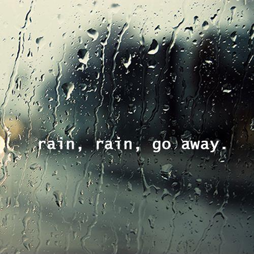 Funny Rain Quotes And Sayings