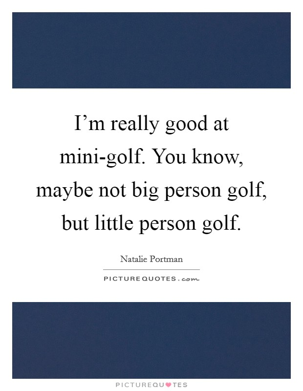 Golf Sayings Funny