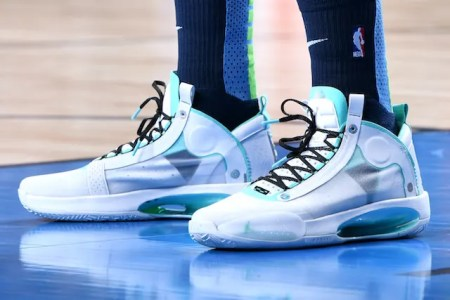 which player had the best sneakers in the nba during week 10