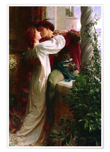 Romeo And Juliet 1884 Posters And Prints Posterlounge Co Uk