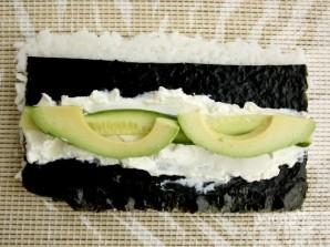 "Sushi Resepti ""Philadelphia"" kotona - Kuva vaihe 4"