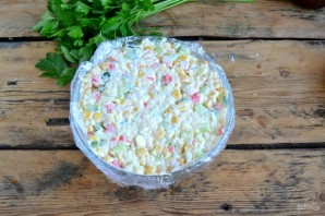 Crab Salad Recipe Classic - Foto Trinn 7